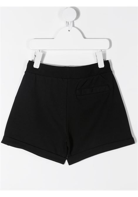Shorts neri MOSCHINO KIDS | SHORTS | HDQ007TLDA1360100