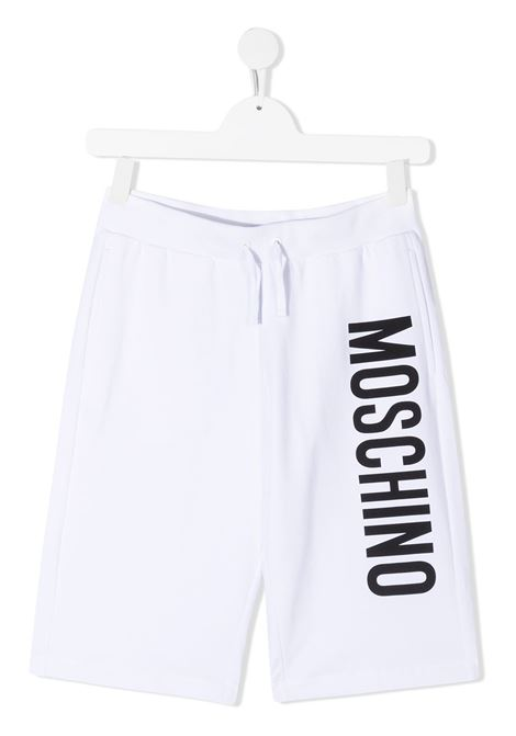 Shorts bianco MOSCHINO KIDS | SHORTS | HMQ007TLDA2710101