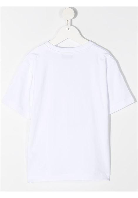 T-shirt bianca MOSCHINO KIDS | T-SHIRT | HOM02XLBA1010101