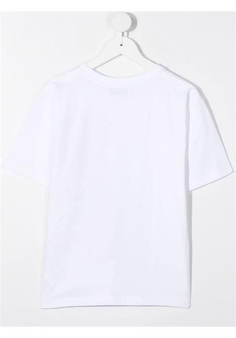 T-shirt bianca MOSCHINO KIDS | T-SHIRT | HQM02XLBA1810101