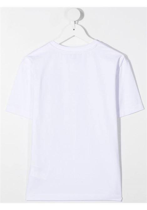 T-shirt bianca MOSCHINO KIDS | T-SHIRT | HRM02XLBA1010101