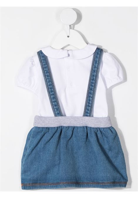 Completo blu/bianco MOSCHINO KIDS | MDG008LDE0840196