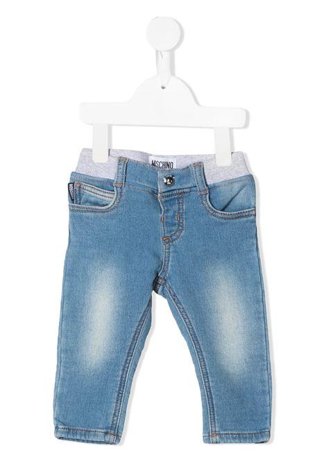 Jeans azzurro MOSCHINO KIDS | JEANS | MMP03EBLDE08BLUASTRA
