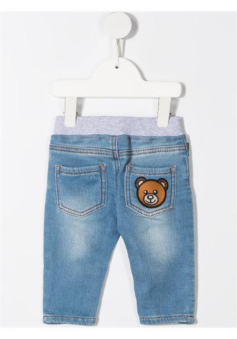 Jeans azzurro MOSCHINO KIDS | MMP03ELDE08BLUASTRA