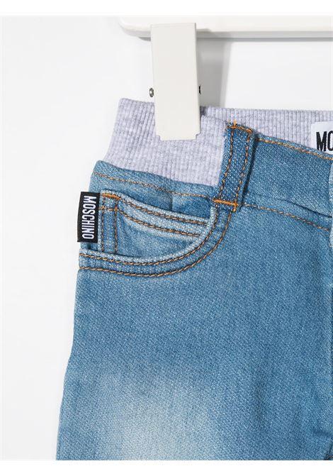 Jeans azzurro MOSCHINO KIDS | JEANS | MMP03ELDE08BLUASTRA