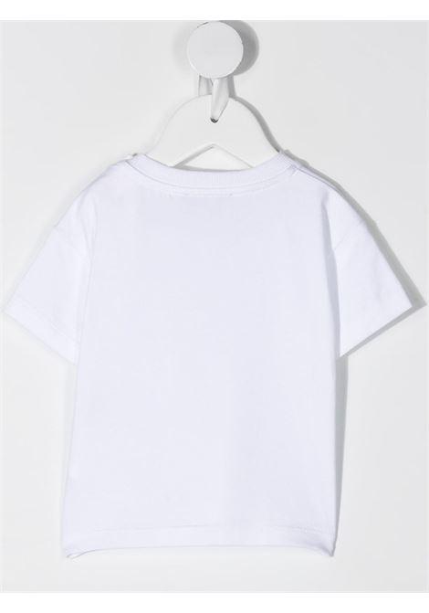 T-shirt bianca MOSCHINO KIDS | MUM02ELBA1010101