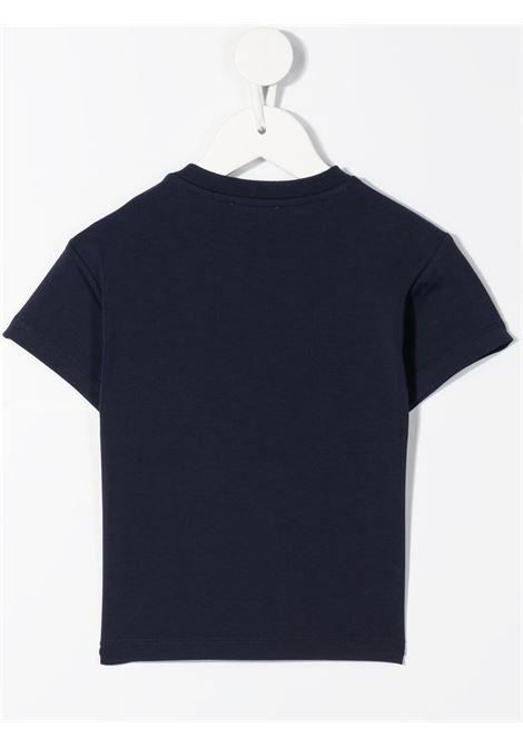 T-shirt blu MOSCHINO KIDS | MUM02ELBA1040016