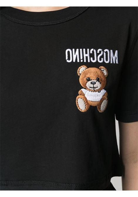 Black t-shirt MOSCHINO |  | A07054401555