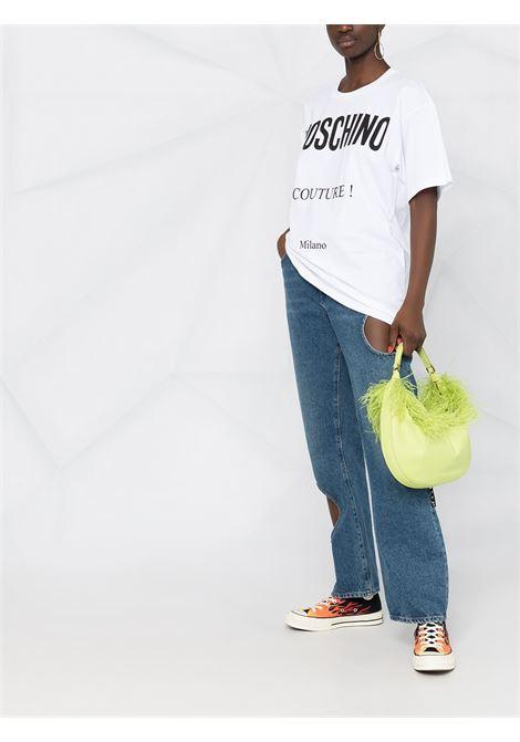 White t-shirt MOSCHINO   T-SHIRT   A07165402001