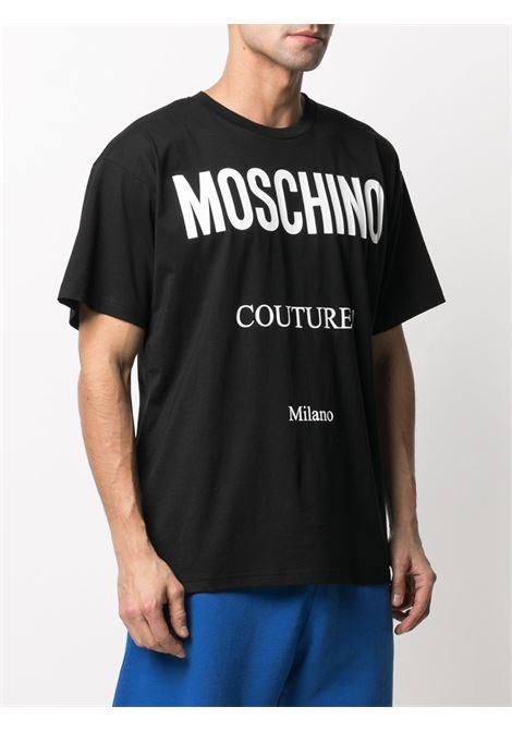 Black t-shirt  MOSCHINO   T-SHIRT   A07165402555