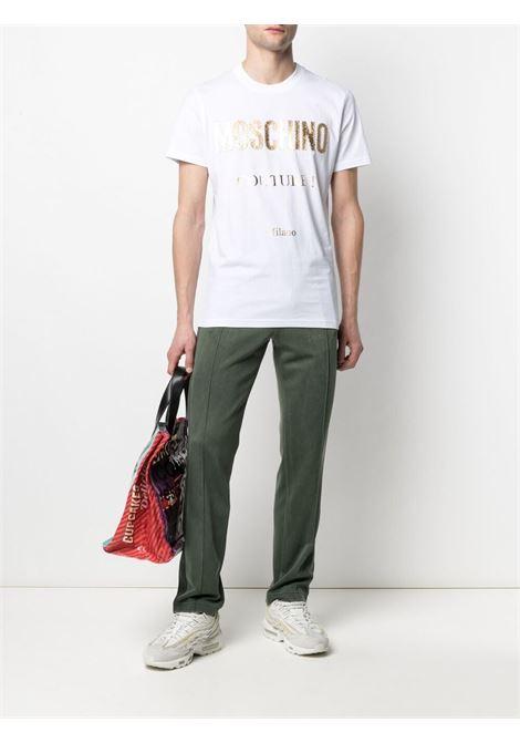 T-shirt bianco MOSCHINO | T-SHIRT | A07712401001