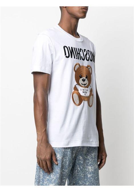 T-shirt bianca MOSCHINO | T-SHIRT | A07742401001