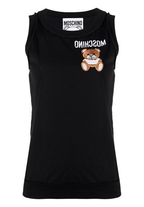 Black t-shirt MOSCHINO |  | A12014401555