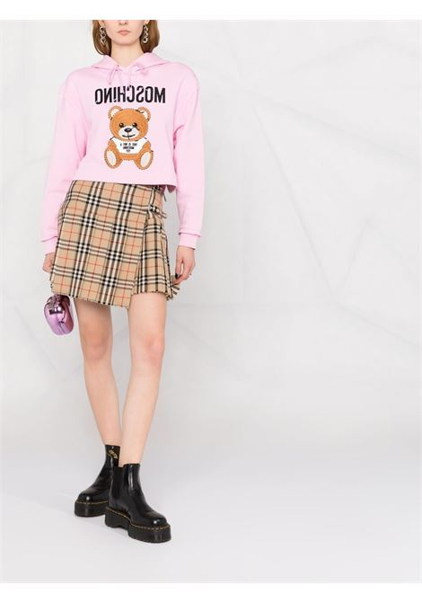 Pink sweatshirt MOSCHINO |  | A17114271222