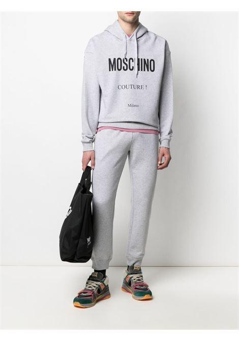 Pantalone grigio MOSCHINO | PANTALONI | J030720271485