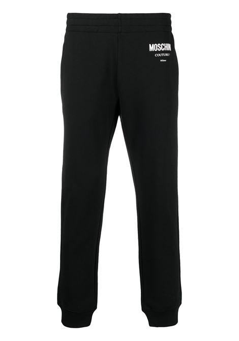 Pantalone nero MOSCHINO | PANTALONI | J030720271555