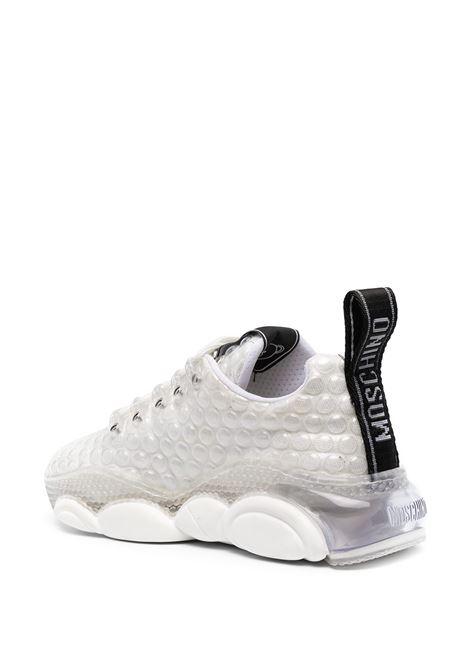 White sneakers MOSCHINO |  | MA15553G0CM70BOLLA3099B