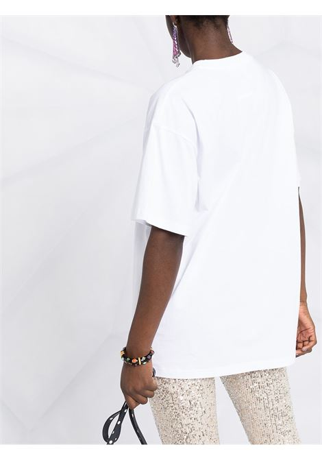 White t-shirt  MOSCHINO   T-SHIRT   V07085401001