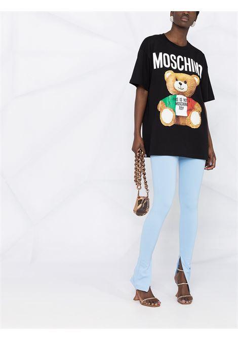 Black t-shirt MOSCHINO   T-SHIRT   V07085401555