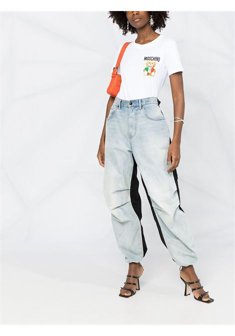 White t-shirt MOSCHINO   T-SHIRT   V07095401001