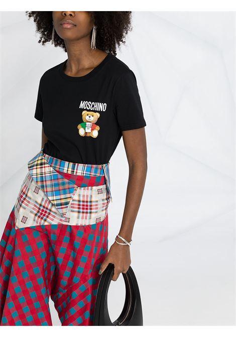 Black t-shirt MOSCHINO   T-SHIRT   V07095401555