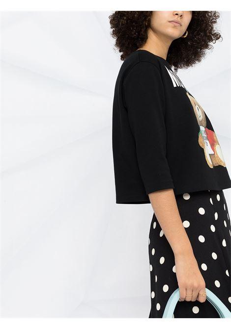 Black T-shirt MOSCHINO   T-SHIRT   V07115261555