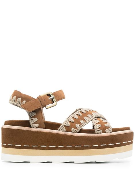 Brown sandals MOU |  | SW351000ACOG