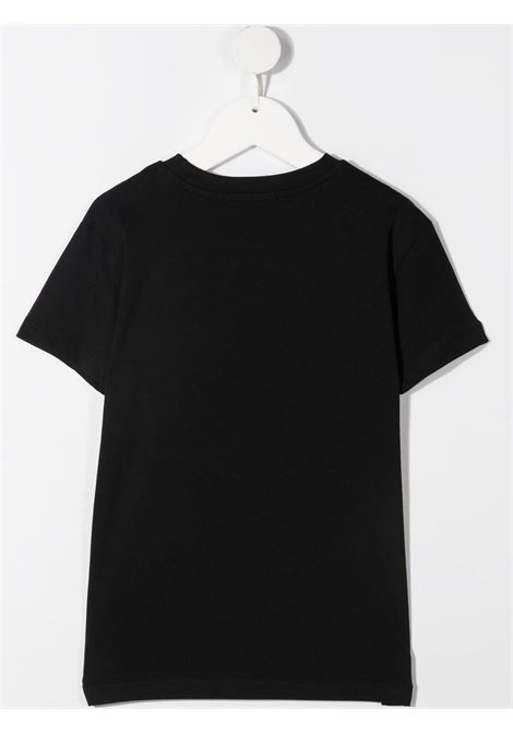 T-shirt nera MSGM KIDS | T-SHIRT | 026829110