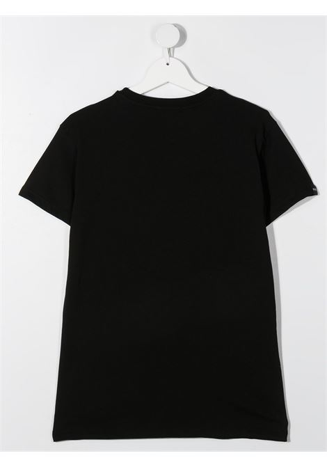 T-shirt nera MSGM KIDS | T-SHIRT | 026829T110