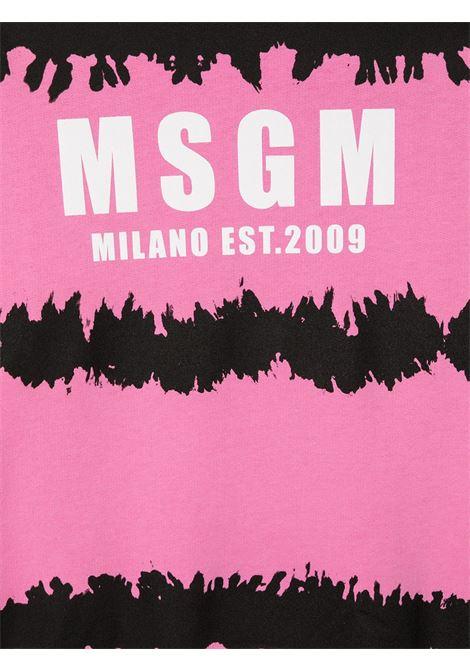 Felpa rosa MSGM KIDS   FELPE   026932T042