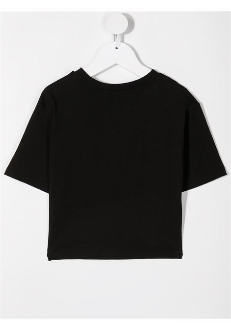 T-shirt nera MSGM KIDS | T-SHIRT | 026939110