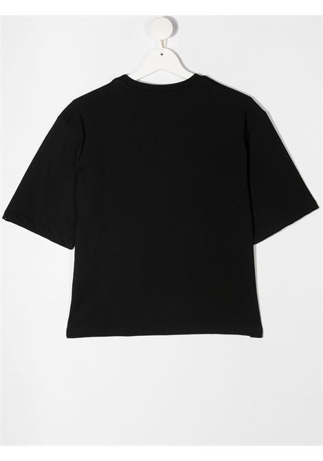 T-shirt nera MSGM KIDS | T-SHIRT | 026939T110