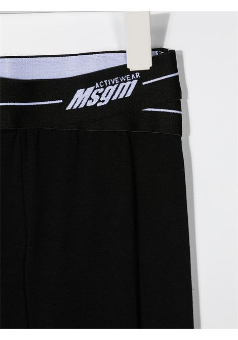 Leggins nero MSGM KIDS | LEGGINGS | 027074110