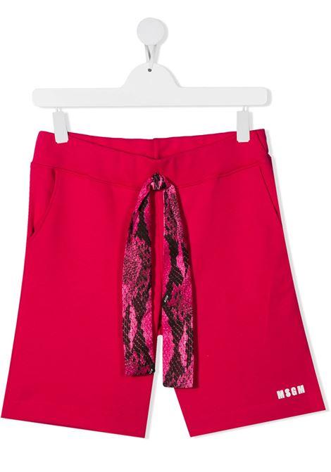 Bermuda rosso MSGM KIDS | BERMUDA | 027102T135