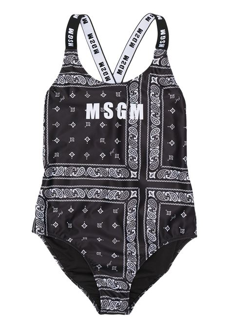 Beachwear nero MSGM KIDS | BEACHWEAR | 027253T110