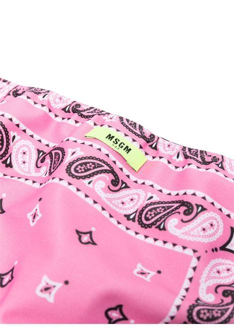bikini rosa MSGM KIDS | BIKINI | 027254T042