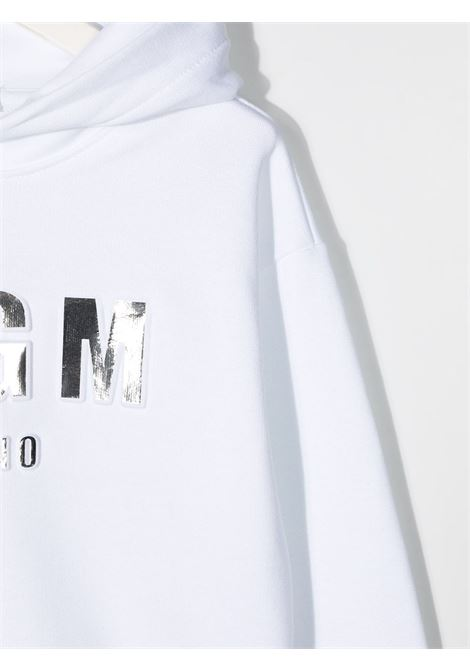 Felpa bianca MSGM KIDS | FELPE | 027388001