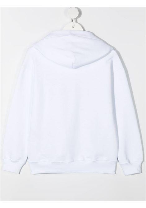 Felpa bianca MSGM KIDS   FELPE   027388001
