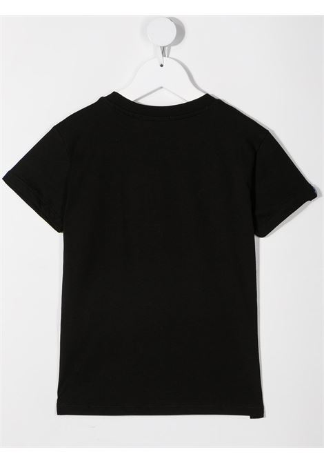 T-shirt nera MSGM KIDS | T-SHIRT | 027389110