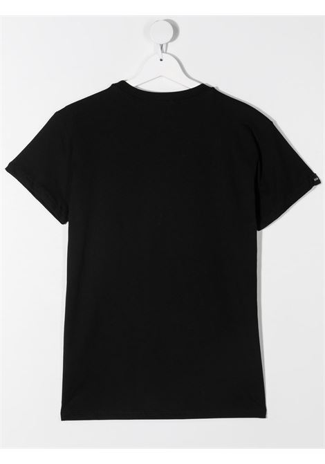 T-shirt nera MSGM KIDS | T-SHIRT | 027389T110