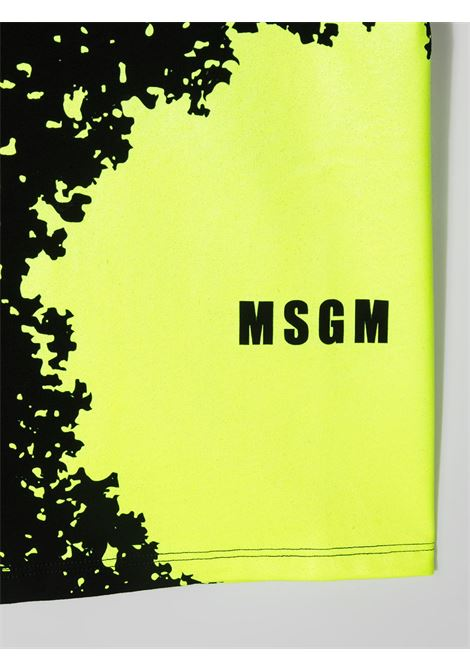 T-shirt nera MSGM KIDS | T-SHIRT | 027614110