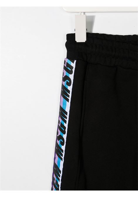 Pantalone nero MSGM KIDS | PANTALONI | 027627110