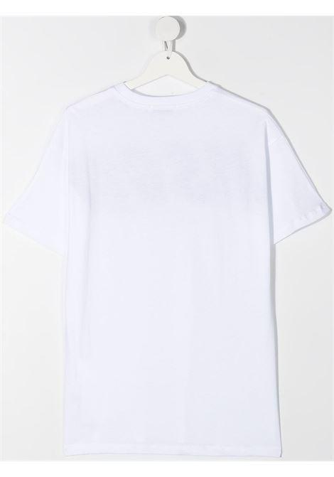 T-shirt bianca MSGM KIDS | T-SHIRT | 027629T001
