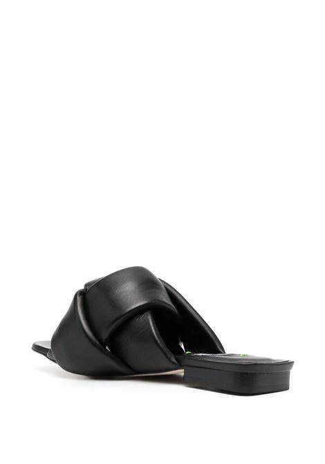 Sandalo nero MSGM   CIABATTE   3042MDS14211499