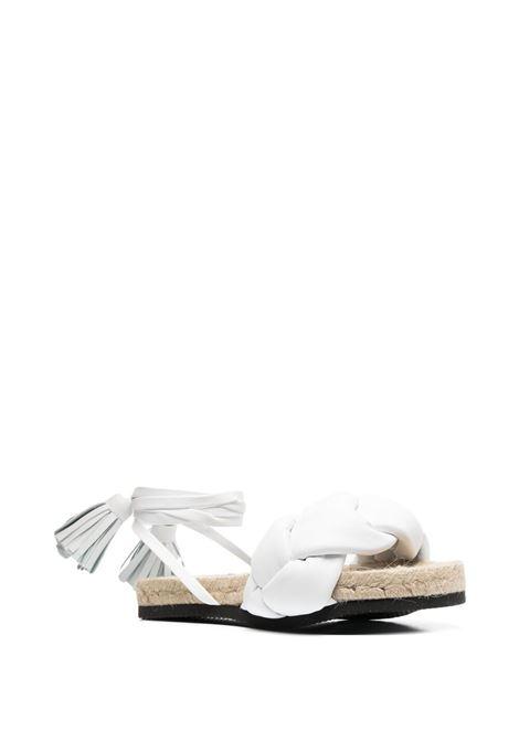 Sandalo bianco MSGM   SANDALI   3042MDS19311401
