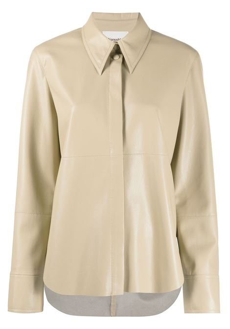 Camicia beige NANUSHKA | CAMICIE | NW21RSSH02476SANDSTONE