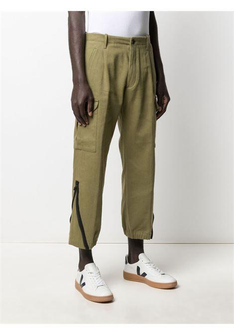 Pantalone verde NINE INTHE MORNING | PANTALONI | 9SS21ML15OLIVA