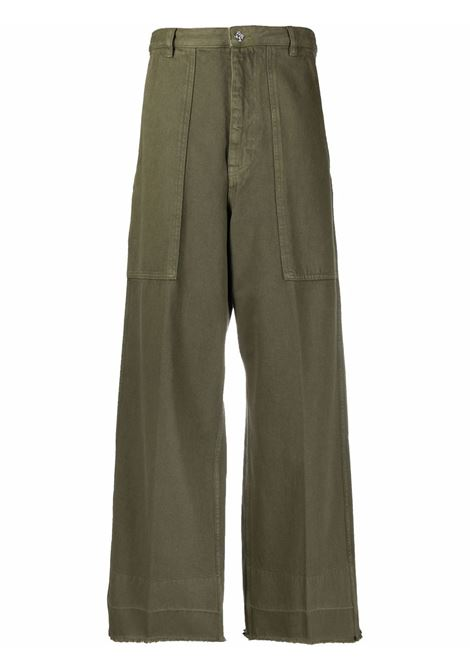 Green trousers NINE INTHE MORNING | 9SS21MY15OLIVA