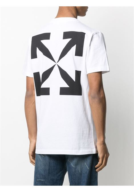 T-shirt bianca OFF WHITE   OMAA027R21JER0020110