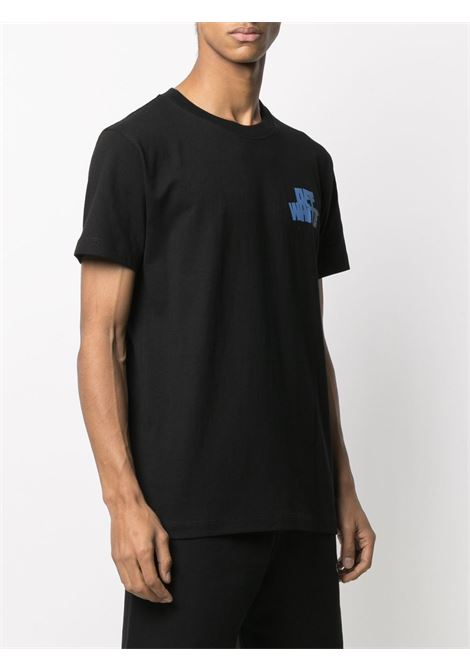 T-shirt nera OFF WHITE   OMAA027R21JER0051040
